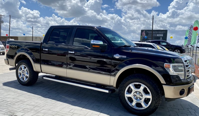 2013 Ford F-150 King Ranch full